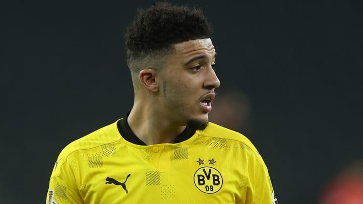 Jadon Sancho could leave Dortmund this summer