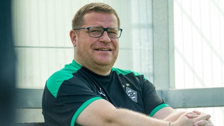 Max Eberl freut sich über das Verhalten der Mannschaft