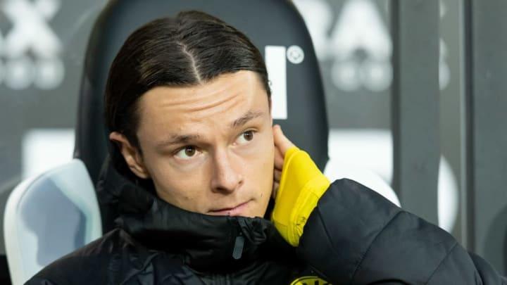 Nico Schulz auf der Ersatzbank