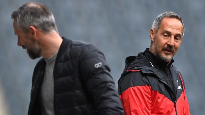 Adi Hütter will seinen Vorgänger überraschen