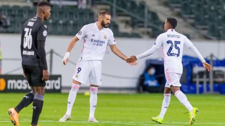 Nur mit einem Sieg über Borussia Mönchengladbach kann Real Madrid das Aus in der Gruppenphase abwenden