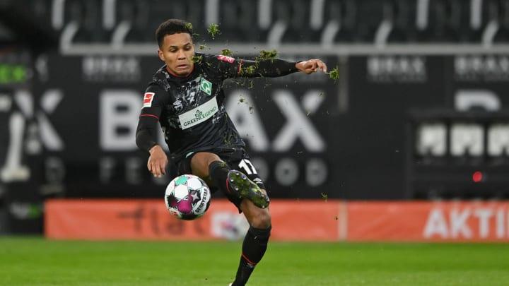 Bestritt in Berlin sein siebtes Pflichtspiel für Werder Bremen: Felix Agu