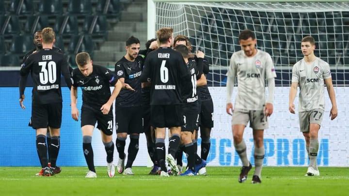 Lars Stindl Shakhtar Donetsk Borussia Mönchengladbach Champions League
