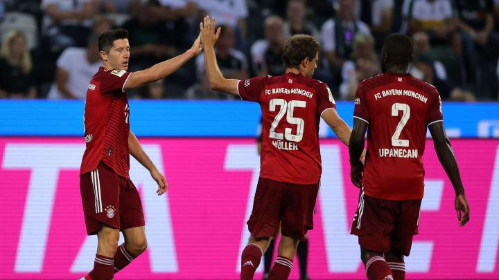 Robert Lewandowski was on the scoresheet on matchday one of the Bundesliga