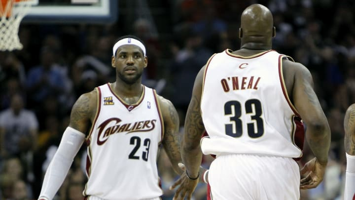 LeBron James, Shaquille O'Neal