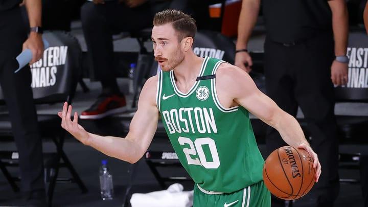 Gordon Hayward, Boston Celtics v Miami Heat - Game Three