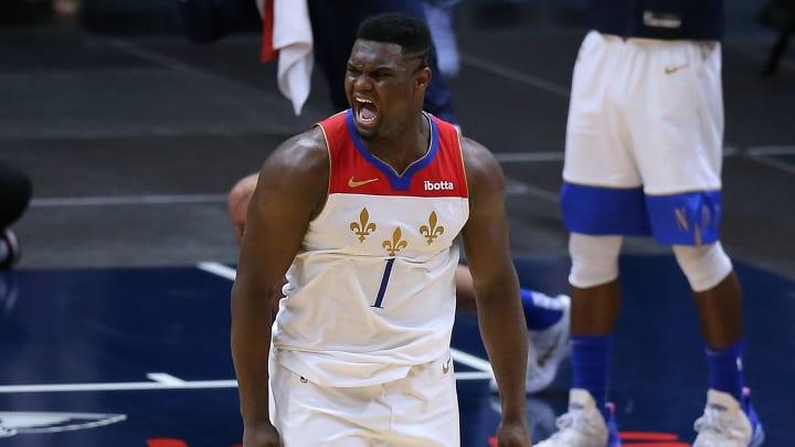 Zion Williamson, Boston Celtics v New Orleans Pelicans