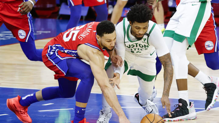 Marcus Smart and Ben Simmons