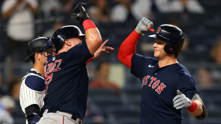 The Red Sox and Yankees will wrap up their three game series in New York tonight.