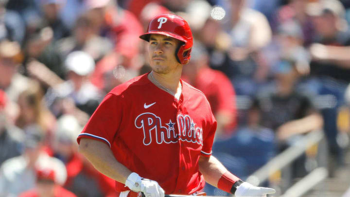 Hard-hitting catcher J.T. Realmuto was in line to receive a long-term extension from the Phillies, but external factors could complicate matters.