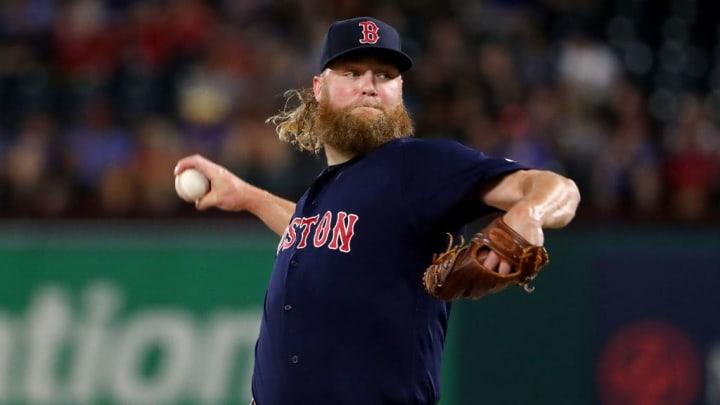 Boston Red Sox right-hander Andrew Cashner