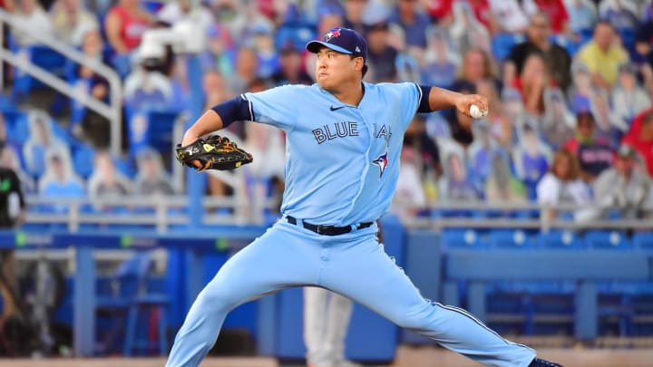 Hyun-Jin Ryu has allowed just one earned run over his last 14 innings for the Blue Jays.