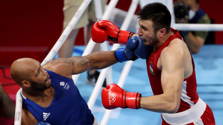Bakhodir Jalolov vs Richard Torrez prediction, odds & betting lines for men's Olympic super heavyweight boxing gold medal bout on Sunday, August 8.
