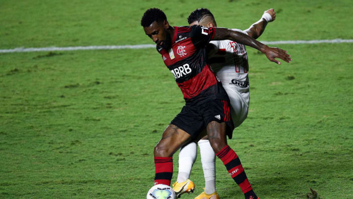 Gerson está no Flamengo desde 2019.