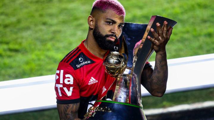 Gabriel Barbosa Brasileiro Flamengo