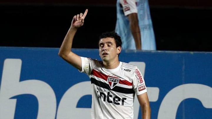 Bom início também do atacante Pablo, que já recebeu muitas críticas pelo baixo desempenho.