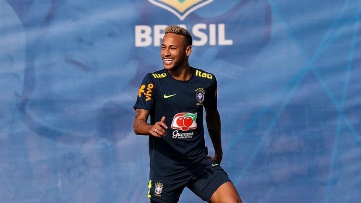 Neymar Jr Ross David Schwimmer Friends Reunião