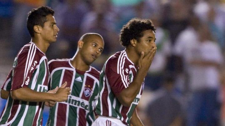 Brazil' s Fluminense Roger Machado (R) c