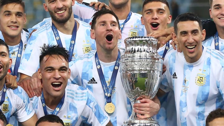 Lionel Messi finally won an international trophy