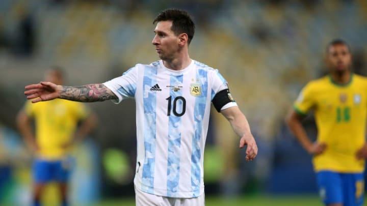 Lionel Messi Barcelona Argentina Copa América