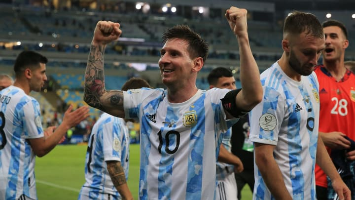 Lionel Messi was lost for words after winning Copa America 2021
