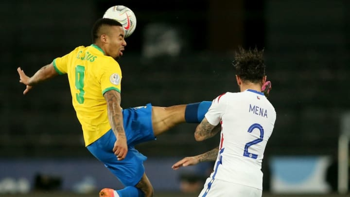 Gabriel Jesus Brasil Chile Copa América Expulsão