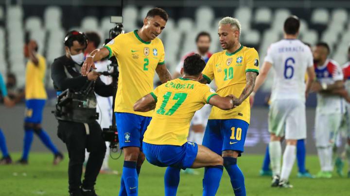 Brasil berhasil melaju ke semifinal Copa America usai mengalahkan Cile