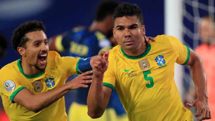 Casemiro, Marquinhos, Vargas e outros nomes: confira o XI ideal combinado entre Brasil e Chile, adversários das quartas de final da Copa América.