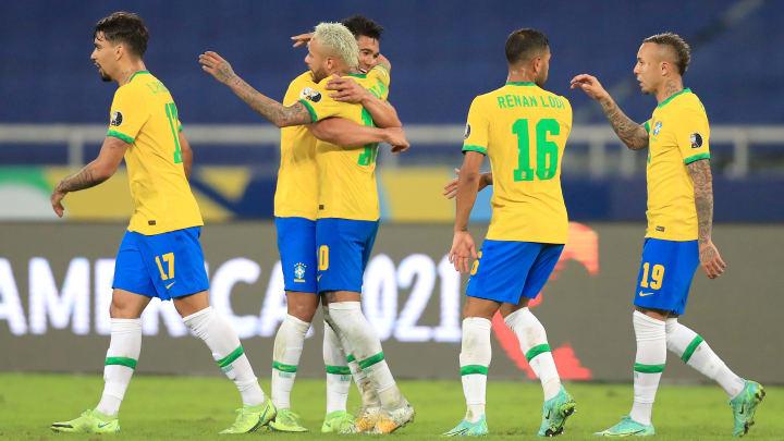 Neymar e Casemiro estão na lista | Brazil v Colombia: Group B - Copa America Brazil 2021