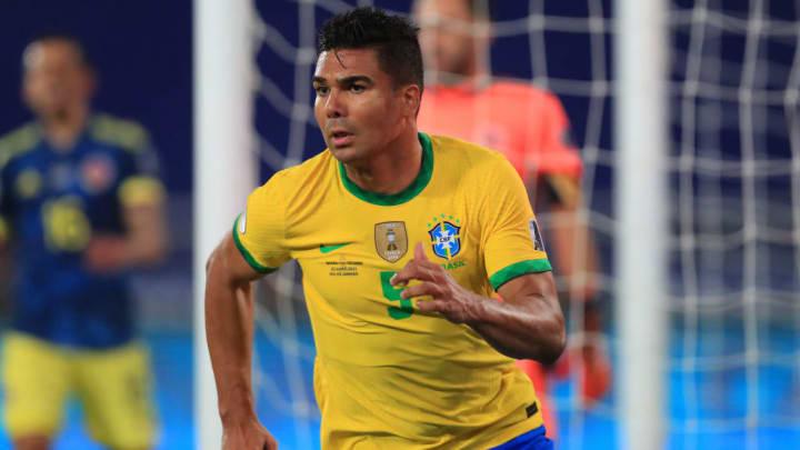 Copa América Brasil Casemiro