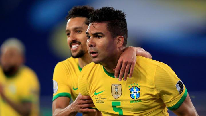 Casemiro anotou o gol da virada no último minuto de jogo