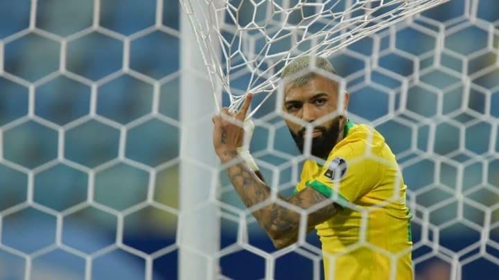 Gabriel Barbosa  Gabigol Brasil Copa América