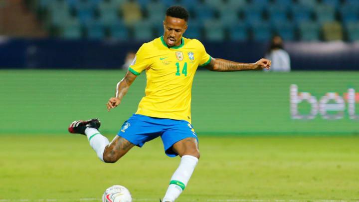 Eder Militao Copa América Brasil