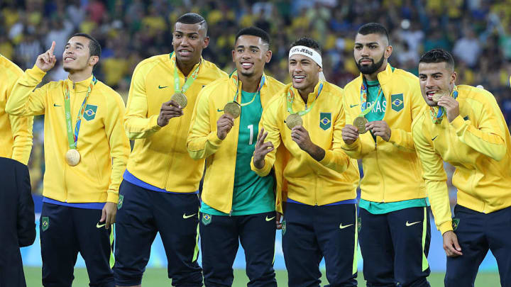 Neymar was a designated over-age player for Brazil in 2016