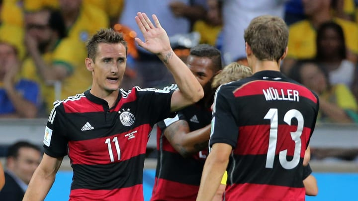 Die Rekordtorschützen der deutschen Nationalmannschaft: Thomas Müller auf Rang 9