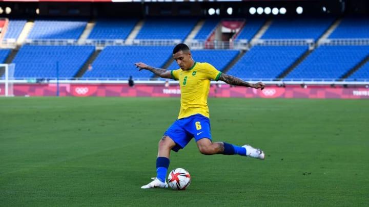 Guilherme Arana Jardine Tite Olimpíada Seleção brasileira Tóquio