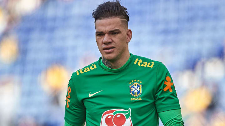 Ederson Moraes Brasil Copa América
