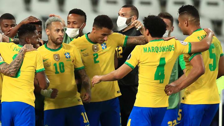 Três atletas da Seleção cresceram de overall | Brazil v Peru - Copa America Brazil 2021: Semifinal