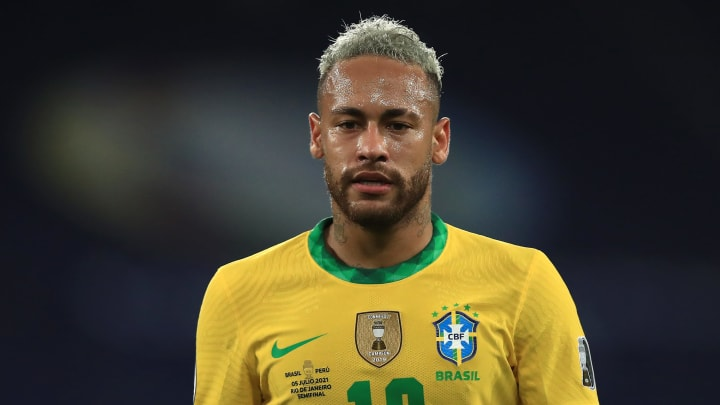 Neymar will look to lead Brazil to their second consecutive Copa America title when they face Argentina in the final on Sunday, 11 July