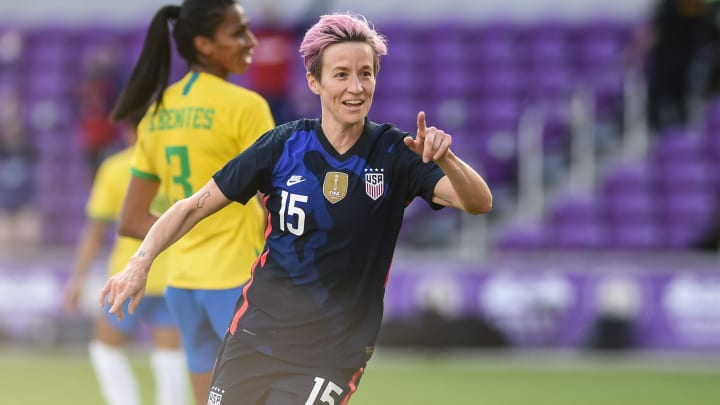 The USWNT are on the verge of winning the SheBelieves Cup