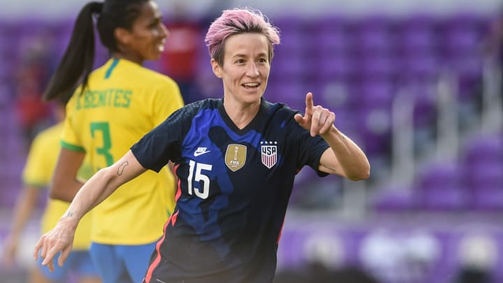 Megan Rapinoe called the new TV deal 'incredible' for the WSL