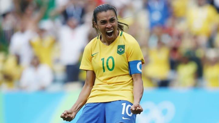 Seleção Feminina vai em busca do ouro   Brazil vs Sweden -  Semi Final: Women's Football - Olympics: Day 11