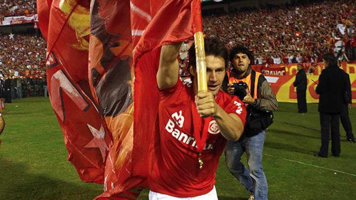 Brazilian Internacional's footballer Raf