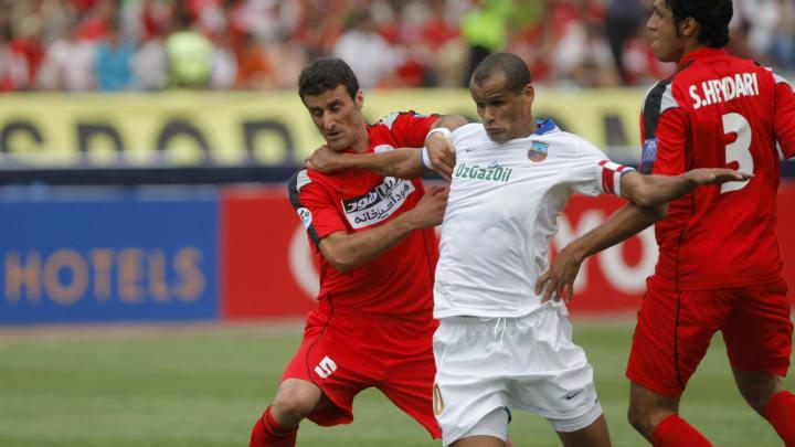 Brazilian Rivaldo of Uzbek champions Bun