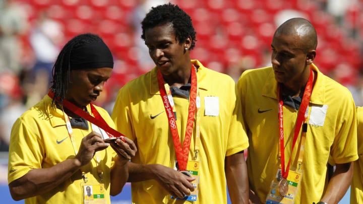 Ronaldinho foi medalha de bronze em 2008