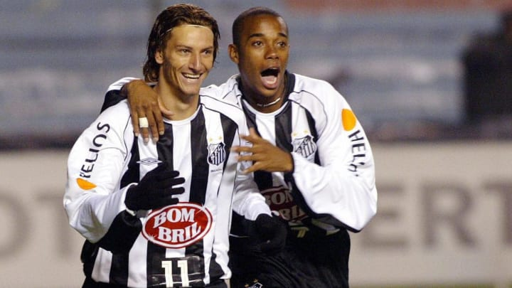 Robinho helped Santos win the title in 2004