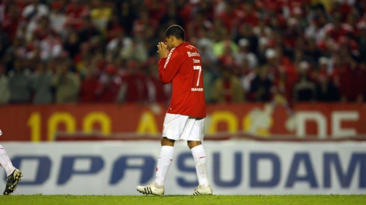 Taison foi campeão da Libertadores pelo Internaciona