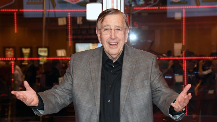 Brent Musburger And Al Bernstein Unveil Broadcasting Studio For VSiN Sports Gambling Information