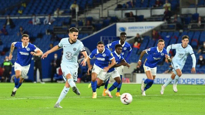 Jorginho opened the scoring from the spot