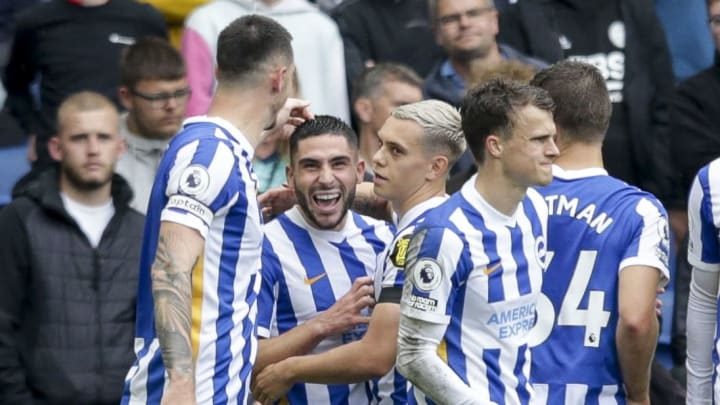 The win lifts Brighton up to second in the Premier League table with four wins and one defeat from five games